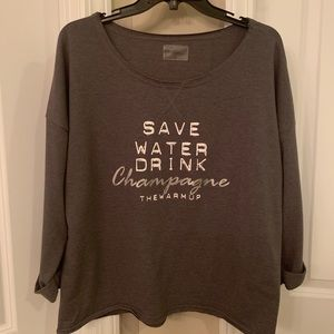 Jessica Simpson . Perfect brunch sweatshirt